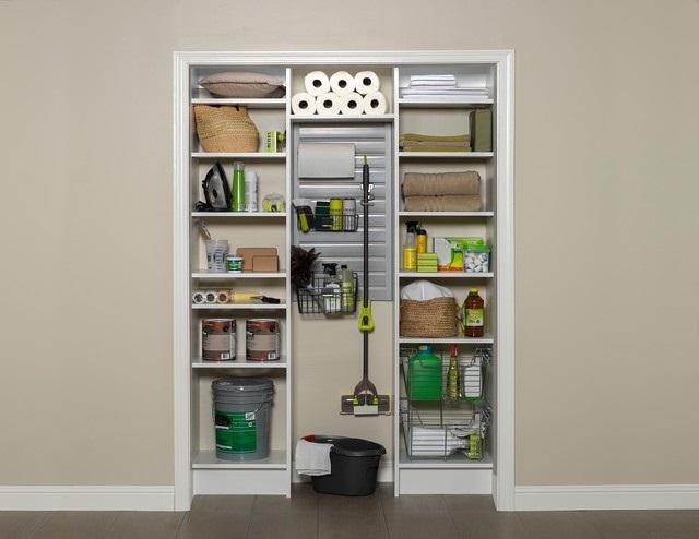 1-dulap utilitar pentru depozitarea produselor de curatenie