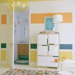 1-dungi late orizontale pictate pe perete