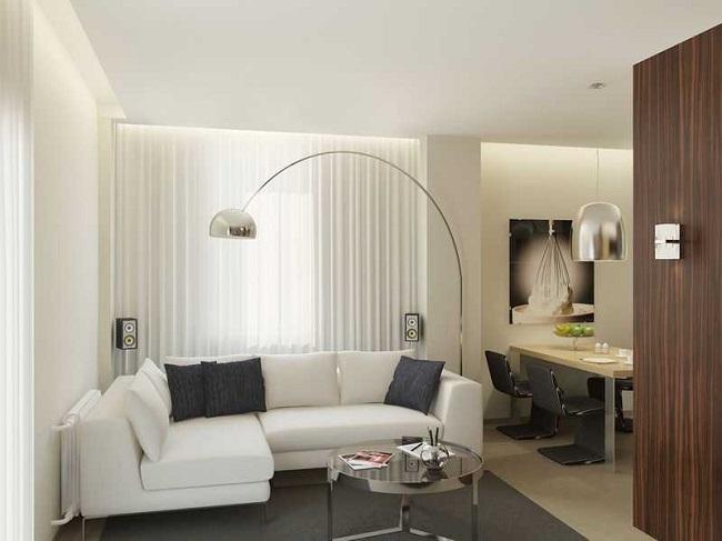 1-exemplu amenajare living modern cu loc de luat masa
