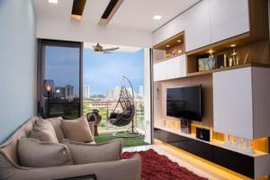 1-exemplu amenajare living modern mic cu mobilier minimalist