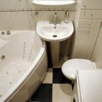 1-exemplu de configurare a interiorului unei bai moderne mici de doar 2 mp