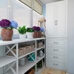 Variante si modele de dulapuri pentru balcoanele mici de apartament