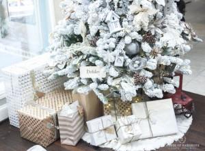 1-exemplu decorare brad de Craciun complet alb
