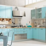 1-exemplu mobila moderna bleu si argintiu bucatarie