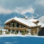 1-exterior cabana la bergerie courchevel alpi franta