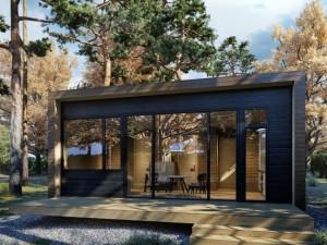 1-exterior casa ecologica prefabricata din lemn Arca