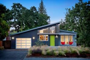 1-exterior casa mica 136 mp cu mansarda design american modern