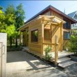 1-exterior casa mica din lemn Portland SUA