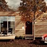 O casa mica, perfecta pentru admiratorii stilului modern minimalist