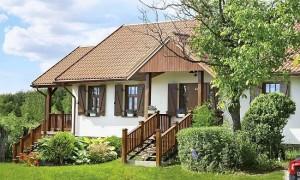 1-exterior casa noua cu design taranesc Polonia