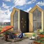 Casa de 45 mp, la cheie intr-o singura zi – solutie locativa moderna pentru tineri