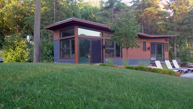 1-fatada casa doar parter 44 mp design ecologic modern model solo 40