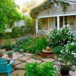 Aranjamente cu flori si arbusti ornamentali pentru gradini mici