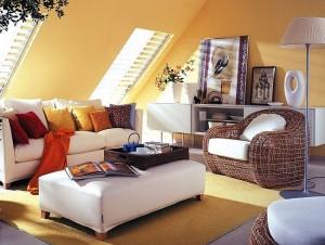 1-fotoliu impletit decor living modern mansarda