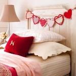 1-ghirlanda cu inimioare decor Ziua Indragostitilor pentru dormitor