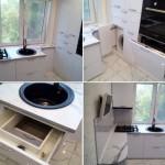 Idee de amenajare si mobilare a unei bucatarii mici de 5 mp