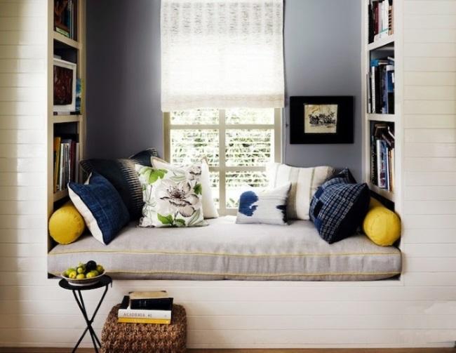 1-idee amenajare loc de relaxare si lectura langa fereastra