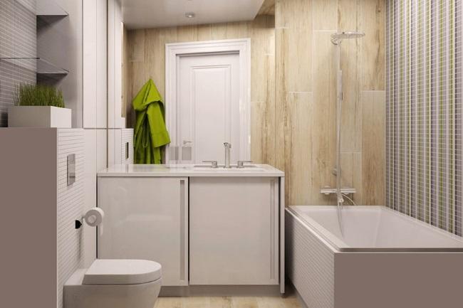 1-idee amenajare stil modern minimalist baie mica apartament