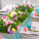 Idei de amenajare si decorare a mesei festive de Pasti
