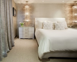 1-idei amenajare dormitor modern alb bej