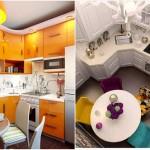 Idei pentru bucatarii mici – secrete de amenajare ilustrate in imagini