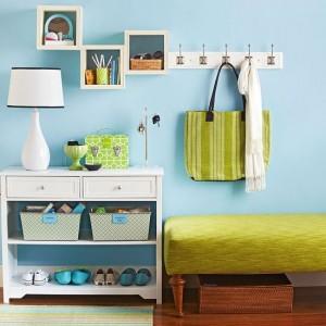 1-idei de amenajare a unui hol mici si colorat