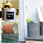 DIY – transforma cutiile de conserve in obiecte utile pentru casa