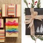 Idei inedite de impachetare a cadourilor de Craciun