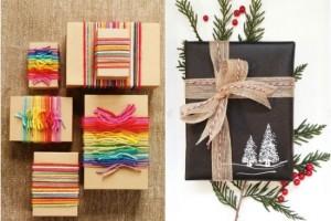 1-idei inedite de impachetare a cadourilor de Craciun