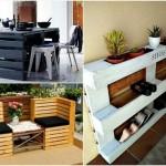 Mobilier DIY din paleti de lemn. Modele simple sau pentru avansati