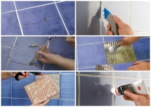 1-inlocuirea unei placi de gresie sau faianta sparta sau crapata