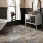 Lambriu pe peretii din baie, o alternativa ieftina la faianta si mozaic