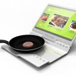 1-laptop bucatarie plita integrata