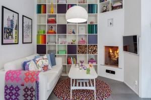 1-living apartament mic cu scara interioara