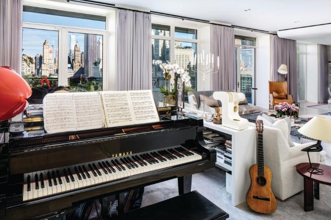 1-living cu pian apartament Sting Central Park West 15