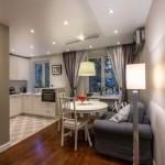 1-living mic si bucatarie cu loc de luat masa amenajare open space apartament