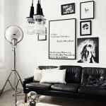 1-living modern cu accente vintage amenajat in alb si negru