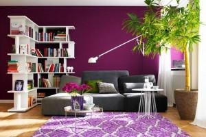 1-living-modern-dupa-amenajare-si-decorare-in-mov-lila-alb-si-verde-olive