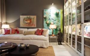 1-living modern in gri alb si maro cu accente balineze