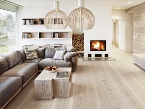 1-living modern scandinav cu perete placat cu parchet