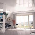 1-living open space casa modulara MADI Home Italia