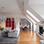 1-living si bucatarie open space apartament cu 4 camere Stockholm