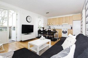 1-living si bucatarie open space apartament modern 3 camere