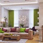 1-living si bucatarie open space apartament modern accente vernil