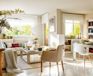 1-living si dining open space apartament 70 mp