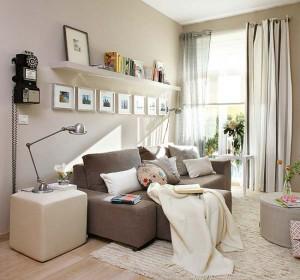 1-living zugravit in bej apartament cu 3 camere