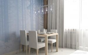 1-loc de luat masa elegant si modern bucatarie apartament 2 camere
