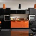 Culoarea neagra in amenajarea bucatariei – mobilier, accesorii, finisaje