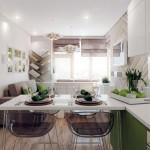 1-model amenajare living mic cu bucatarie open space