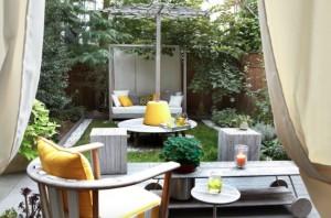 1-model amenajare si decorare curte mica langa casa